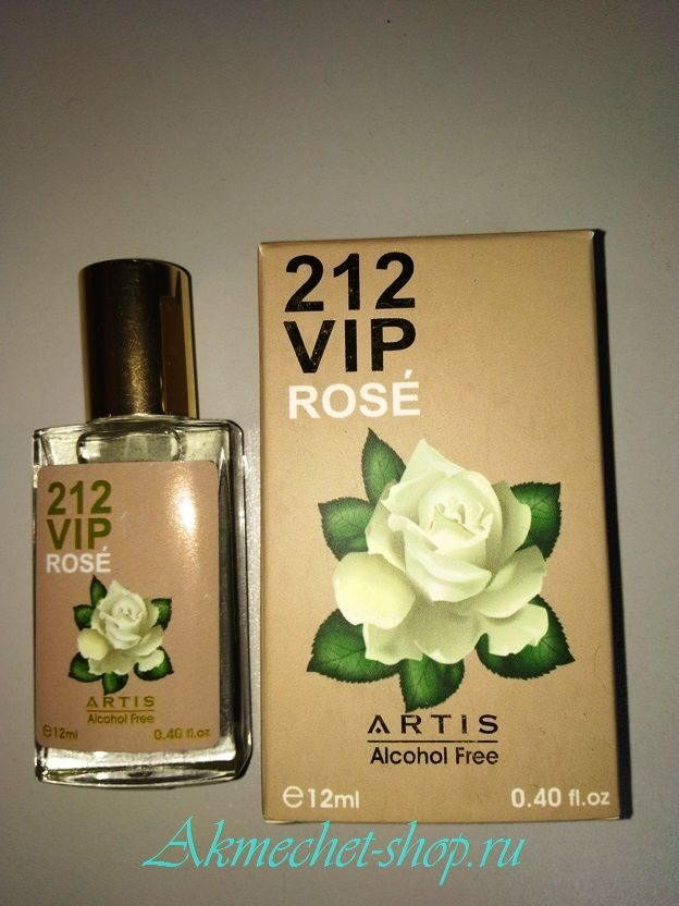 Духи ARTIS - 212 VIP Rose 12 ml №305