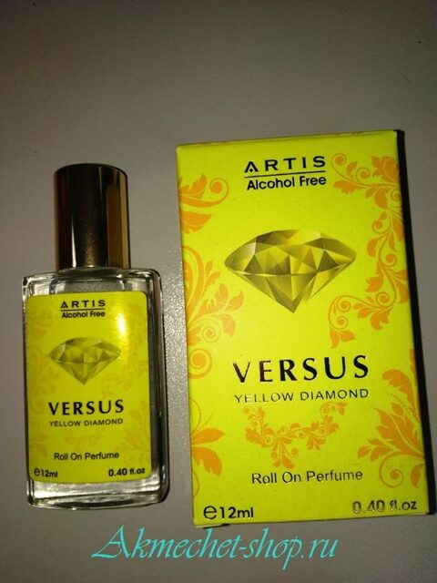 Духи ARTIS - VERSUS Yellow Diamond 12 ml №302