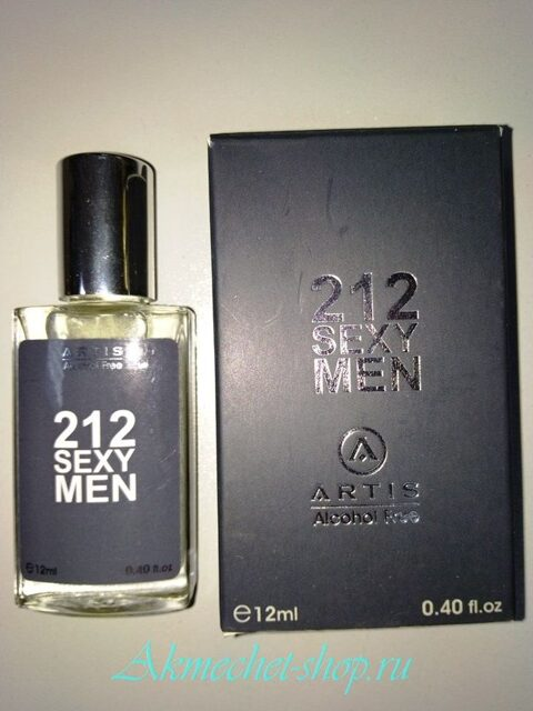 Духи ARTIS - 212 Sexy men 12 ml №107